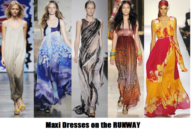 Maxi Dress Runway