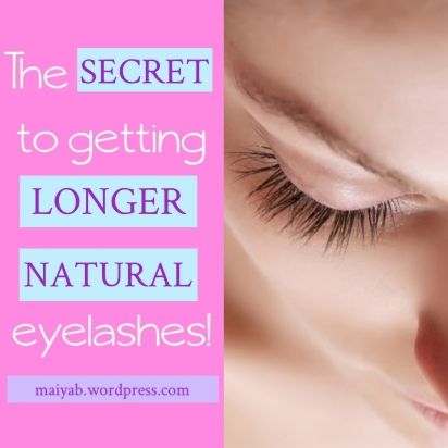 how to make your eyelashes grow longer with coconut oil