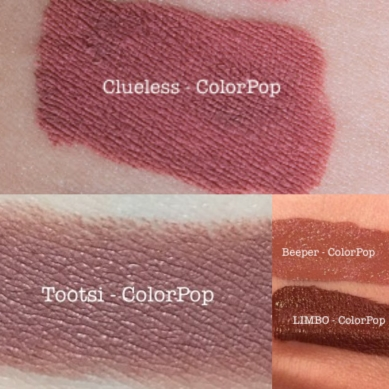 ColourPop_Ultra_Matte_Lip_1st_Base_Clueless_Beeper_Tulle_Dr_Fotor_Collage.jpg